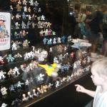 Liam admires the Galactic Heroes