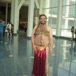 Even the men can dress as Slave Leia