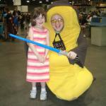 Saffy with Bananakin Skywalker