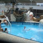 We immiedately visited the kids pool