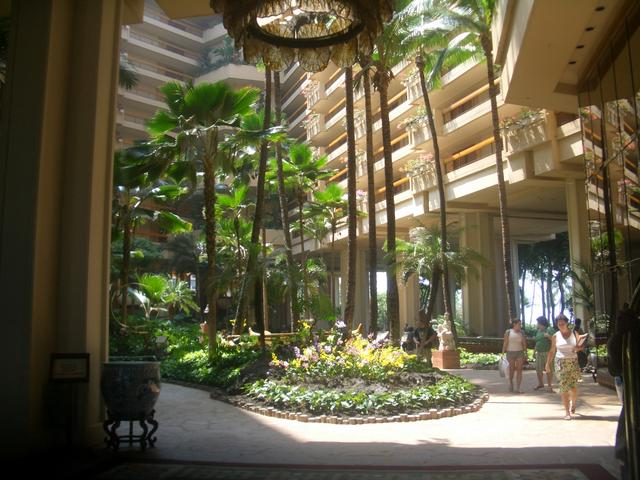 Lobby of second resort