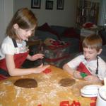 Making more Christmas cookies