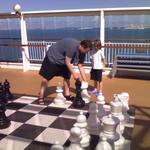 Playing chess onboard
