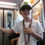 Liam on the subway