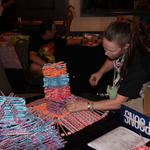 What to do with thousands of left over Pixy Stix? Build a castle