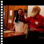 James Randi Performs Card Trick at Camp Inquiry