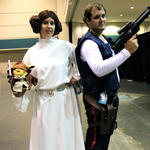 Leia & Han (and Jedi Pikachu)