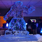 Ice sculpture at Hoth Bar