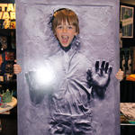 Liam encased in carbonite