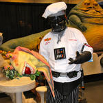 Chef Vader serves up Jar Jar