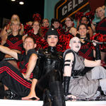 Sith cheerleaders & friends