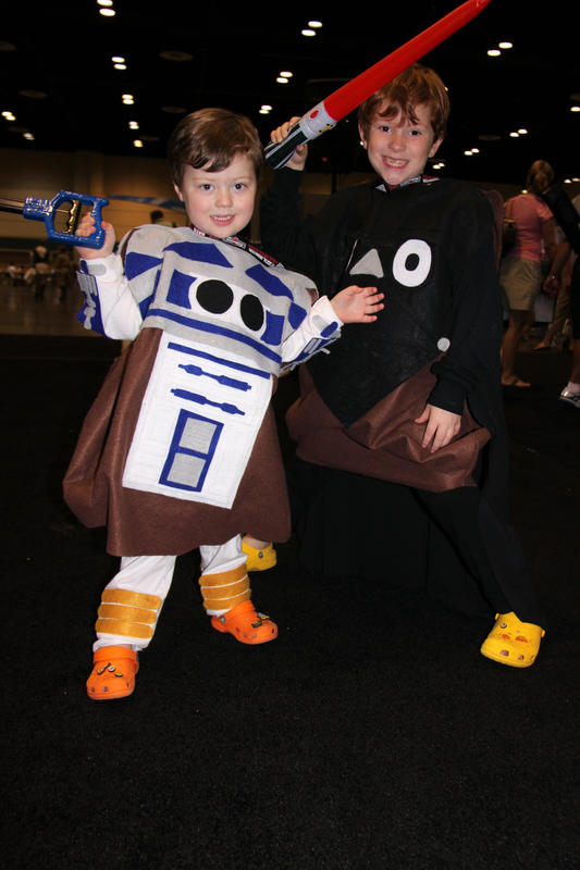 Artoo-Potatoo Tater & Darth Tater