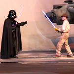 Darth Vader & Indy battle