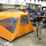 Tent in the boardgame room?